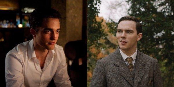 Robert Pattinson in Cosmopolis and Nicholas Hoult in Tolkien
