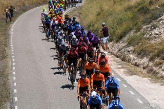 Euskaltel-Euskadi in last year's Vuelta a Burgos