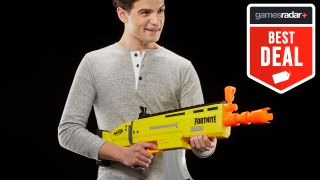 Get discounts of almost 50% on Fortnite Nerf guns