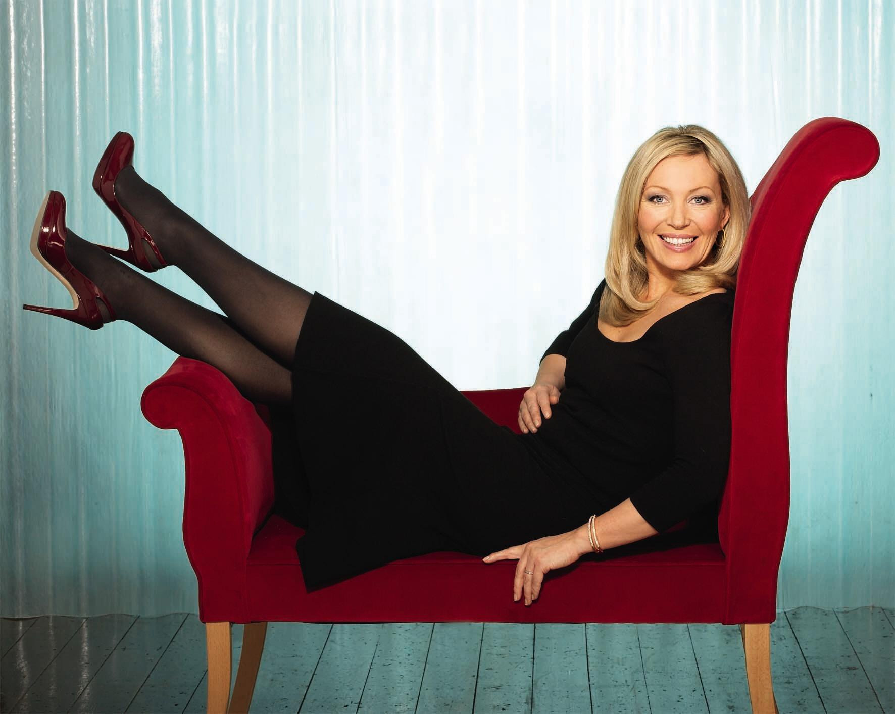 Kirsty Young: 'I'm not some leggy, pouty bird'