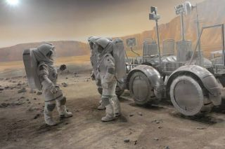 Race the Red Planet: Production Begins on Mars Mission Mini-Series
