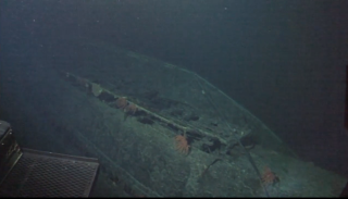 Japanese Submarine From World War II