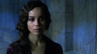 Zoe Kravitz as Leta Lestrange in Fantastic Beasts: Crimes of Grindelwald
