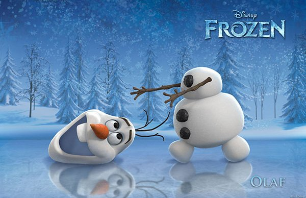 Frozen Character Poster Olaf