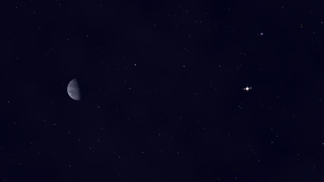 See Jupiter Near the Moon Wednesday Morning | Space