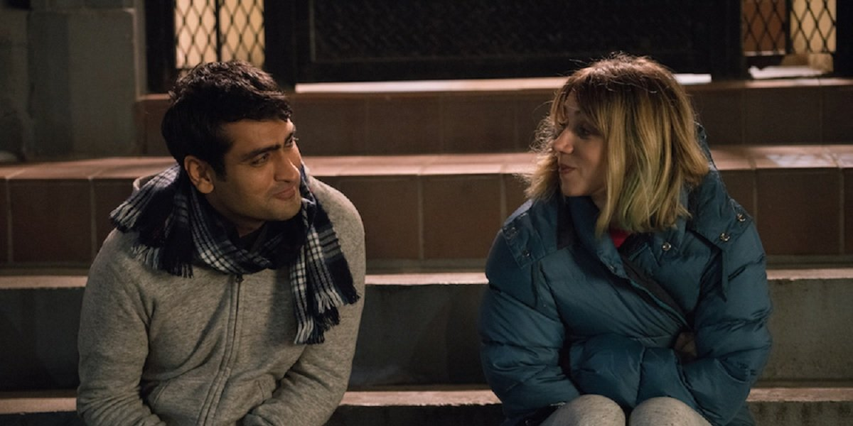Kumail Nanjiani and Zoe Kazan in The Big Sick