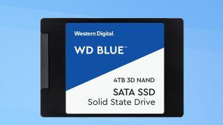 4TB WD Blue SATA SSD