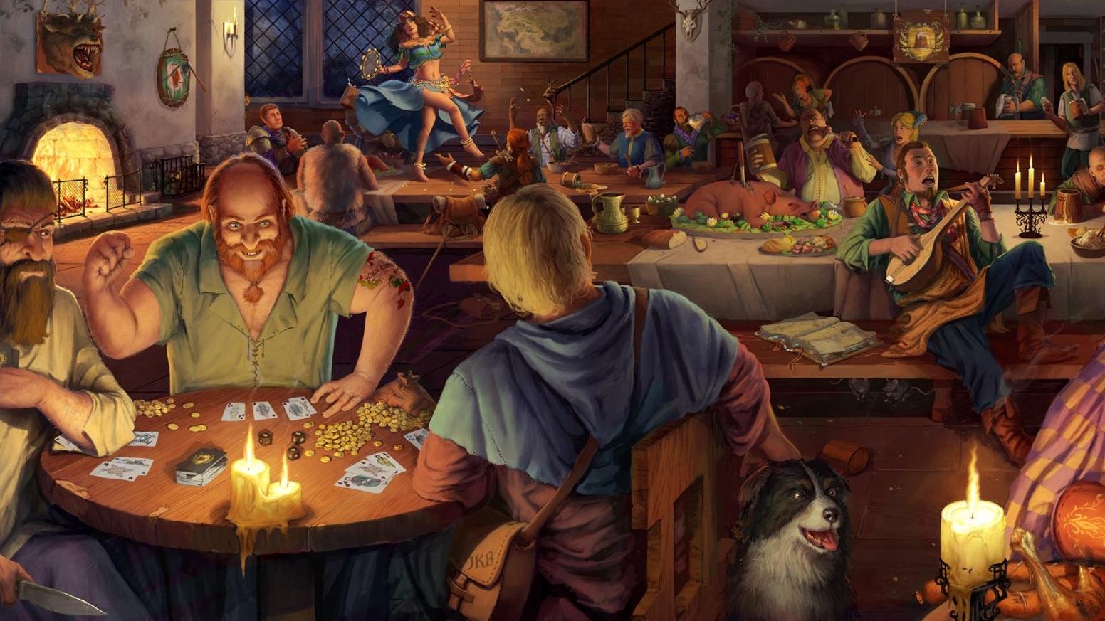Fantasy tavern simulator Crossroads Inn will release in