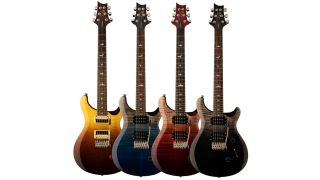 PRS SE Custom 24 Fade electric guitars