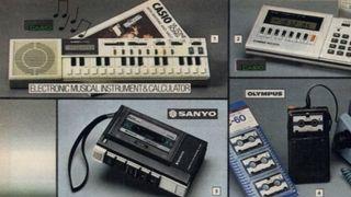 Casio musical instrument and calculator