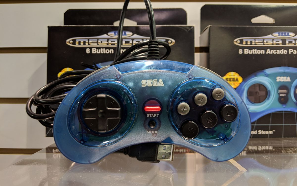 Retro-Bit's First Sega Controllers Are Coming this February, and