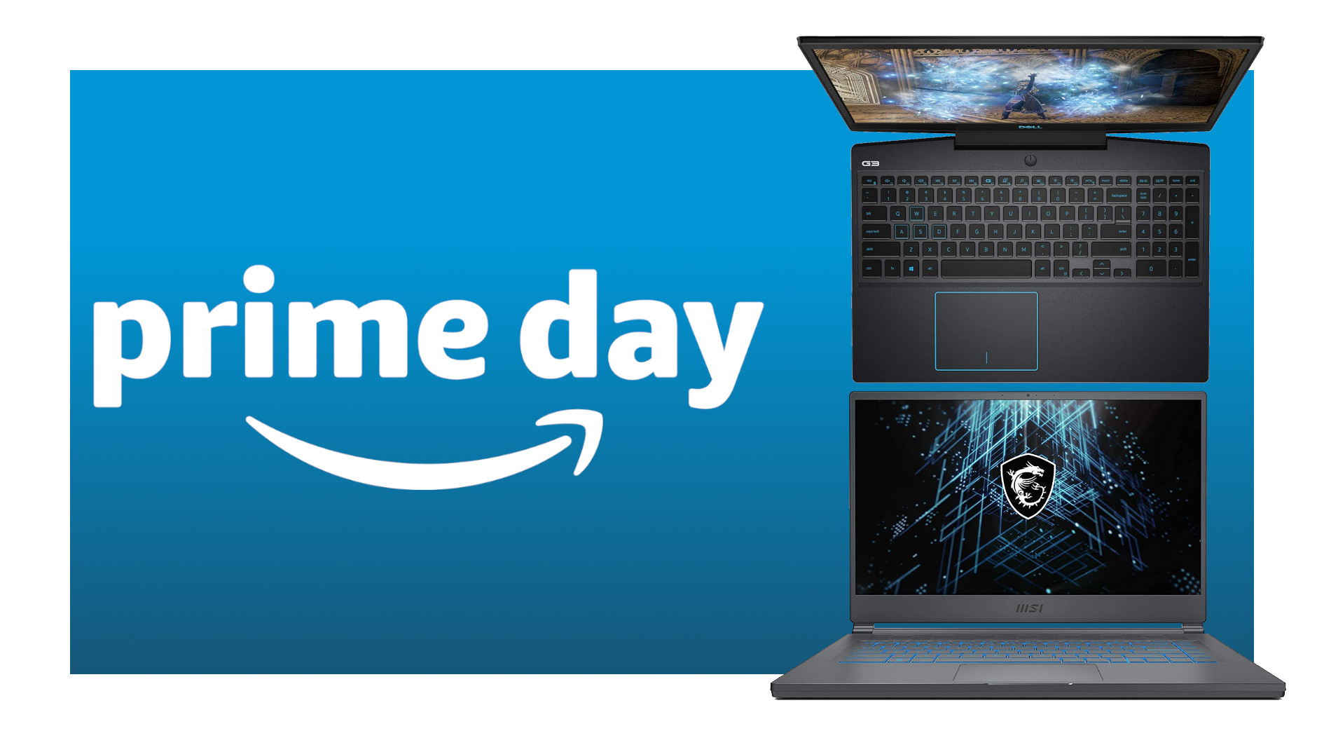 Amazon Prime Day gaming laptops
