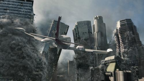 2012 - Skyscrapers topple in Roland Emmerich's blockbuster disaster movie