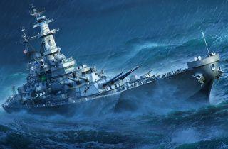 USS Missouri in World of Warships
