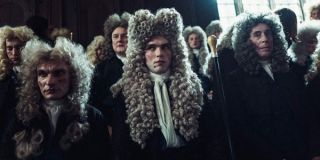 Nicholas Hoult in The Favourite