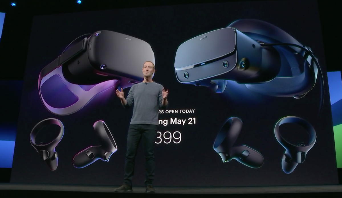 Official release date for Oculus Quest, Oculus Rift S is May 21