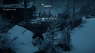 Assassin's Creed Valhalla Deserted Chalet