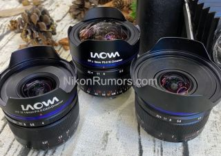 Laowa ultra-wide lenses