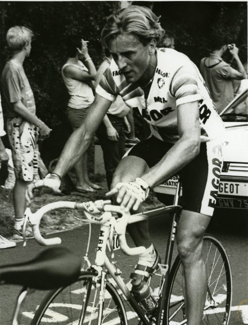 Malcom Elliott during the 1988 Tour de France