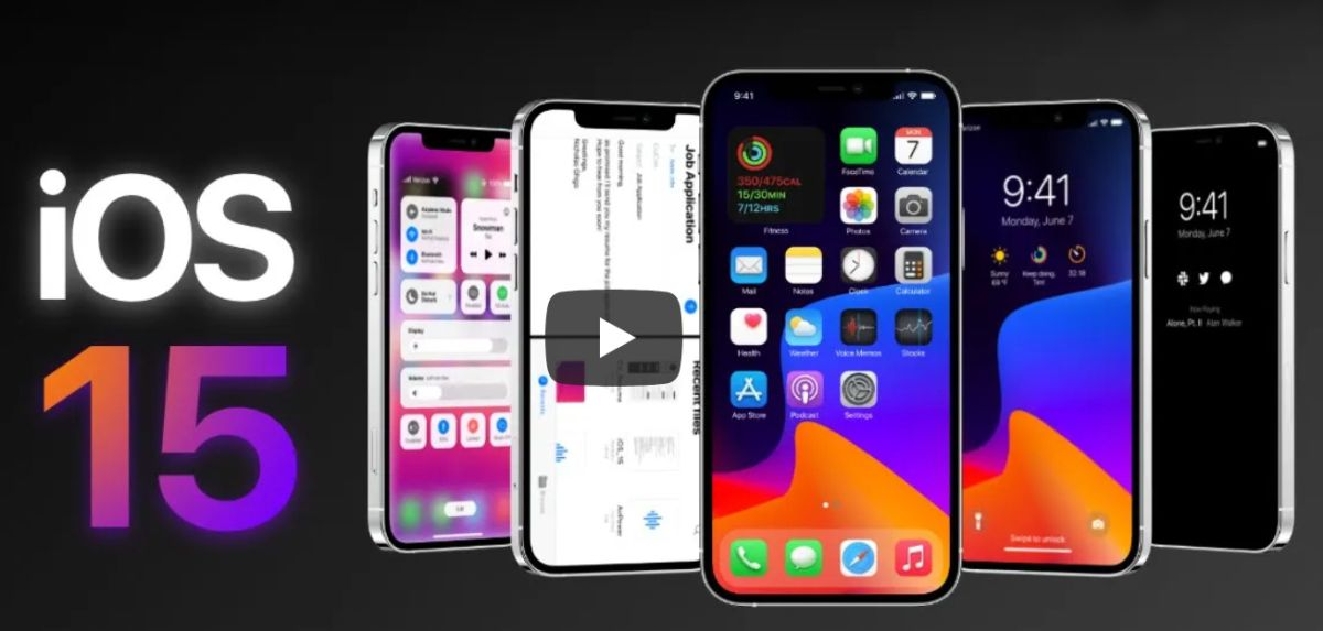 Stunning iOS 15 concept teases future of the iPhone