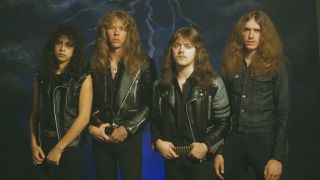 Metallica in 1984: the line-up that made Ride The Lightning