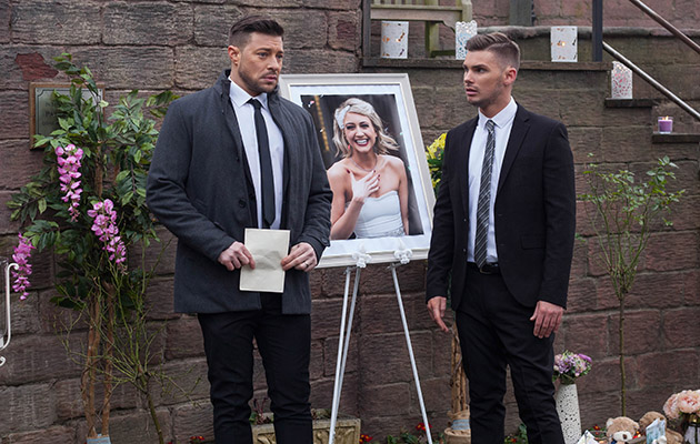 Ryan and Ste's affair is exposed by Leela at Amy's memorial