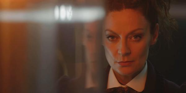 Doctor Who Missy stoic smerk