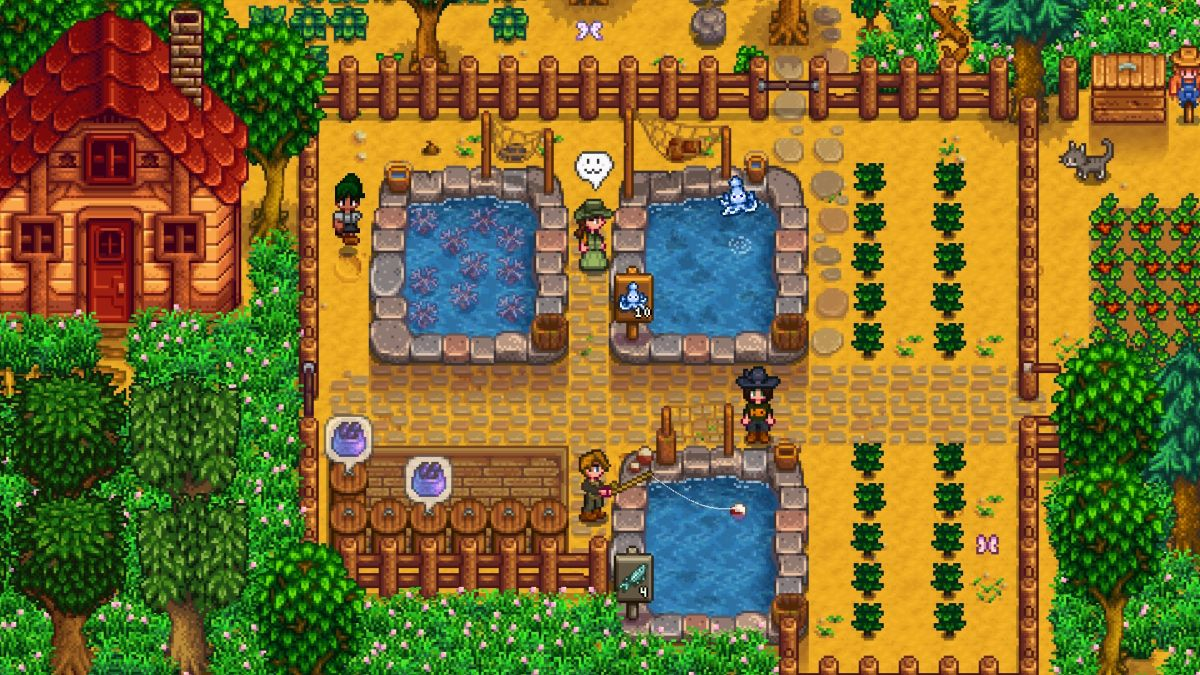 Stardew Valley Patch Update Everything New In The Latest Version Of Stardew Valley Pc Gamer Characters now face you when you talk to them instead of. stardew valley patch update everything