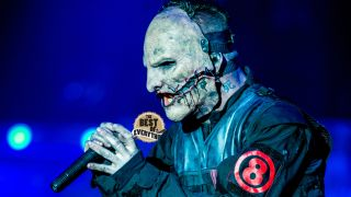 Corey Taylor of Slipknot at Download on June 12, 2015