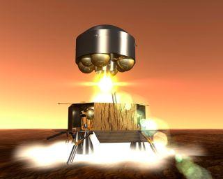 Mars Sample Return Ascent