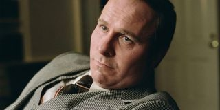 Christian Bale as middle age Dick Cheney in vice