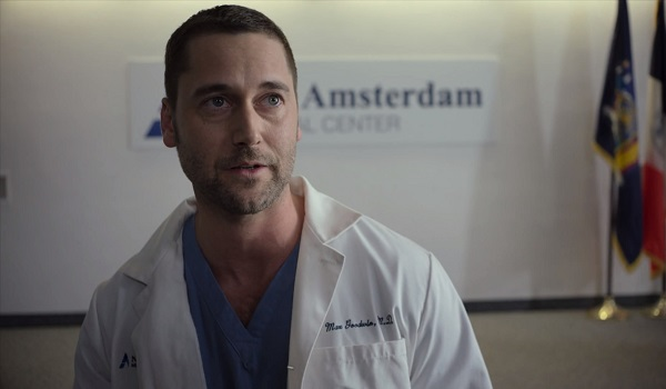Ryan Eggold New Amsterdam NBC