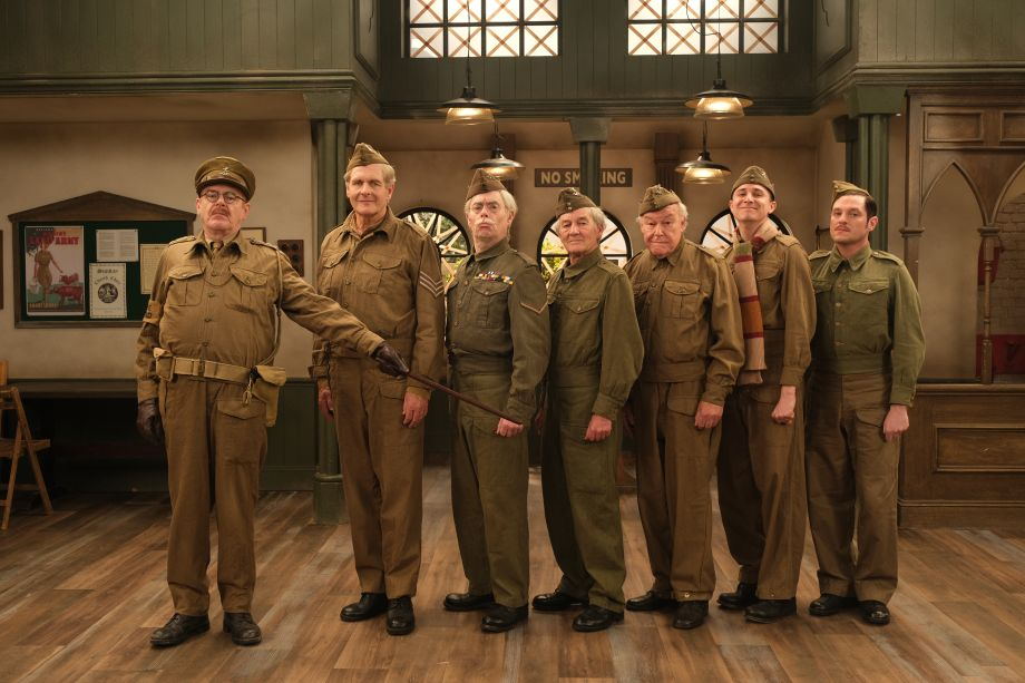 The cast of Dad's Army: The Lost Episodes on 'walking in the footsteps of legends'
