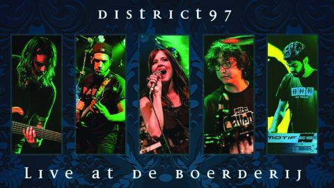 District 97 - Live At De Boerderij DVD cover