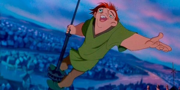 Quasimodo in The Hunchback of Notre Dame