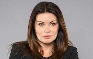Alison King as Carla Connor in Coronation Street