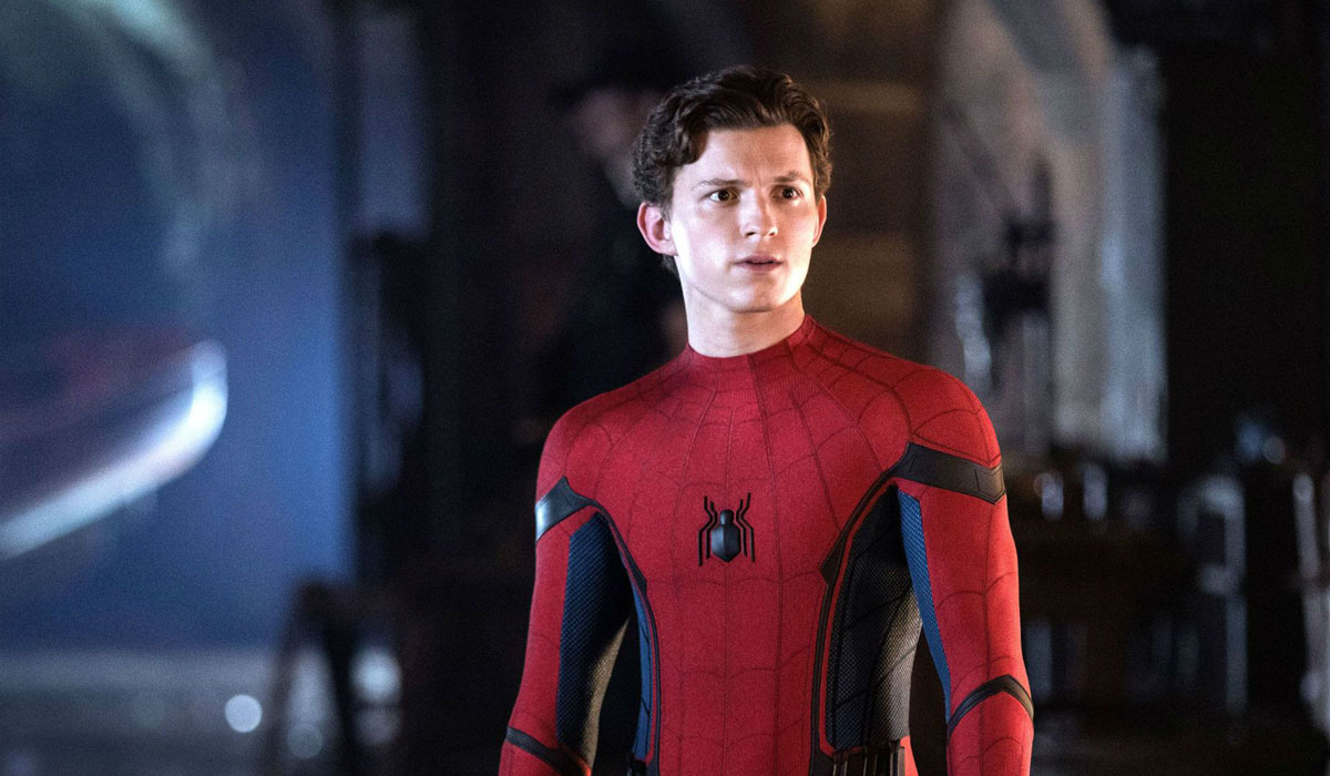 Tom Holland new spidey suit in Spider-Man Far From Home