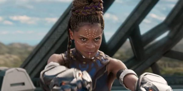 Shuri in Black Panther's final battle