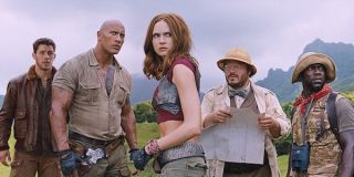 The starring cast of Jumanji: Welcome to the Jungle