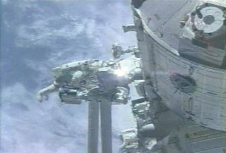 Shuttle Astronauts Wrap up Third Spacewalk at Station