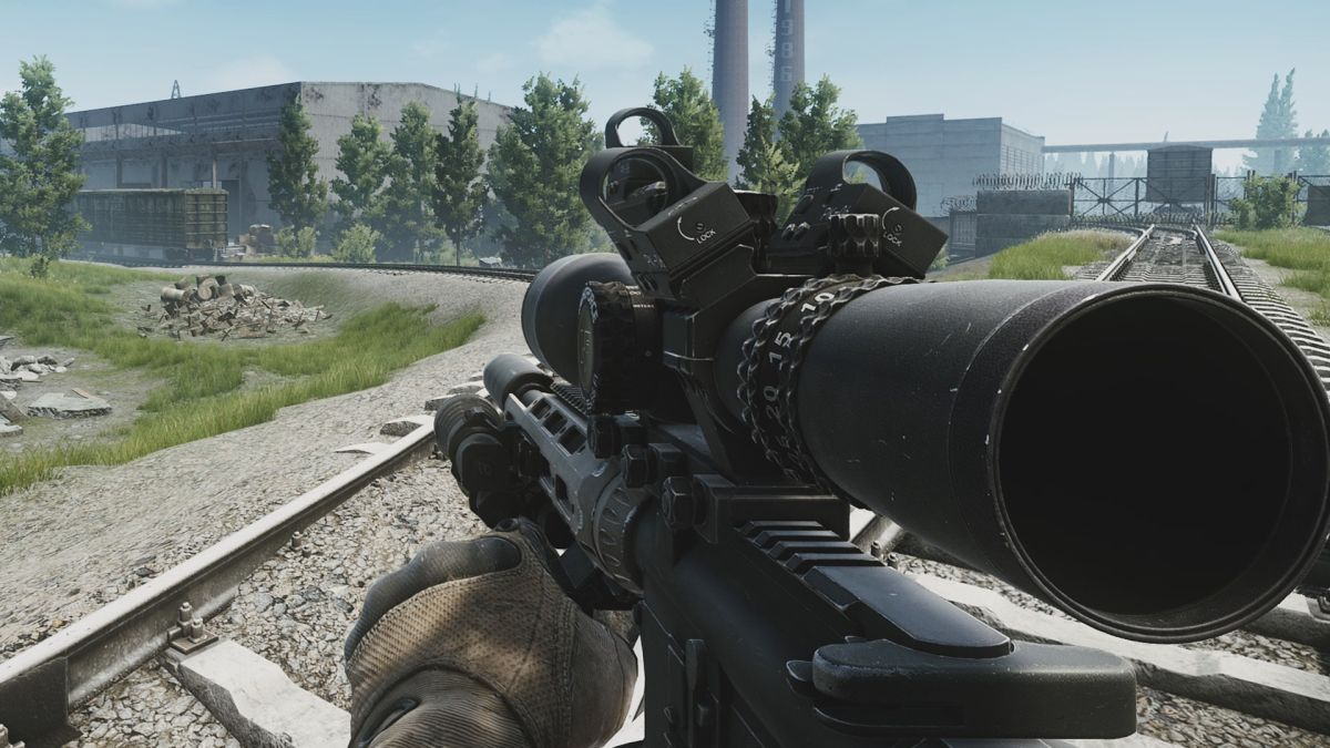 A Rifle With 5 Scopes And Other Dumb Guns You Can Make In Escape From Tarkov Pc Gamer