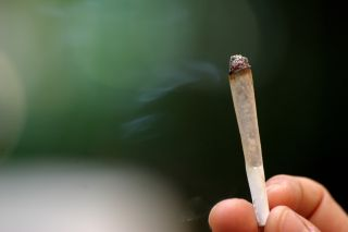 """Wet,"" a street name for liquid PCP, can be applied to a marijuana cigarette and then smoked."