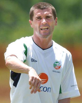 Ireland Training Roy Keane