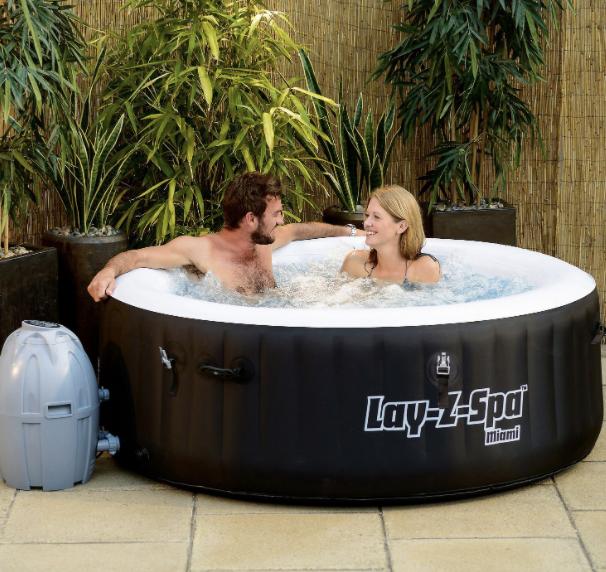 best hot tub deals: Bestway Lay-Z-Spa Miami Hot tub
