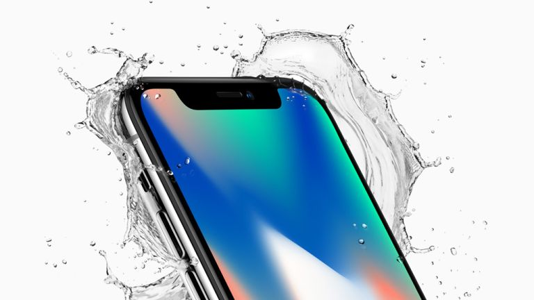 iPhone X water