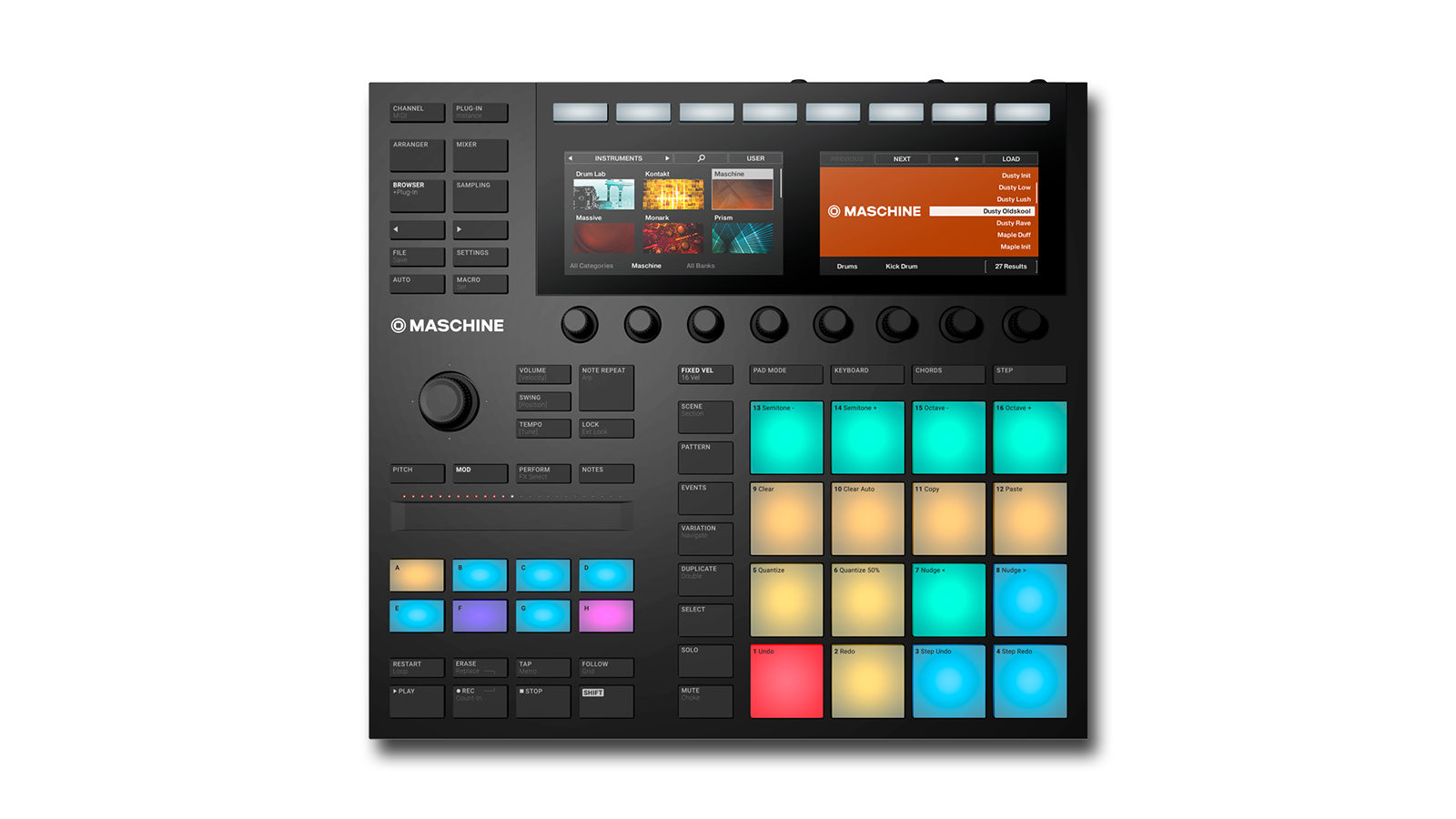 Best Maschine 2019: Native Instruments' Maschine, Mikro, Studio and Jam hybrid MIDI controllers head to head | MusicRadar