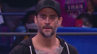CM Punk at AEW Dynamite