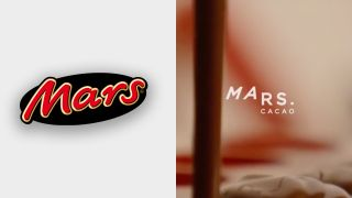 Mars logo rebrand