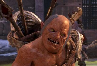 One of the uglier orcs in Shadow of Mordor