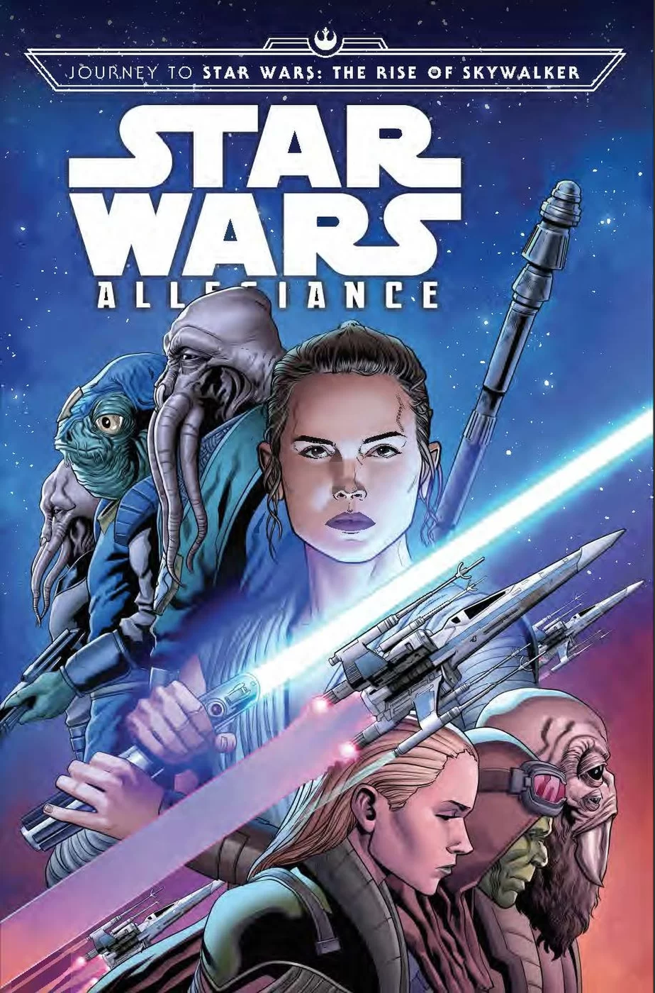 The Story Of Star Wars Rise Of Skywalker Begins With Allegiance Space